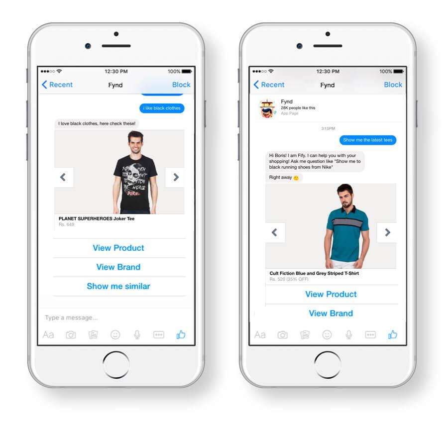 Los chatbots te permiten escoger y comprar según tus necesidades