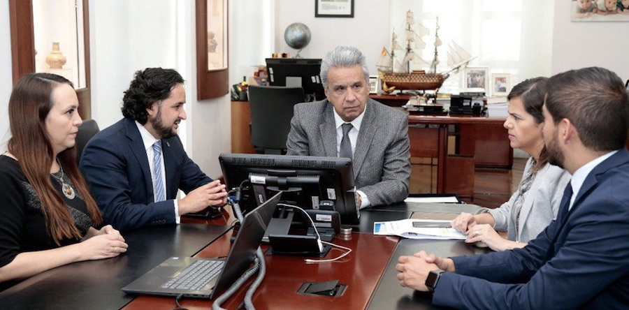 Presidente de la República del Ecuador, Lenin Moreno