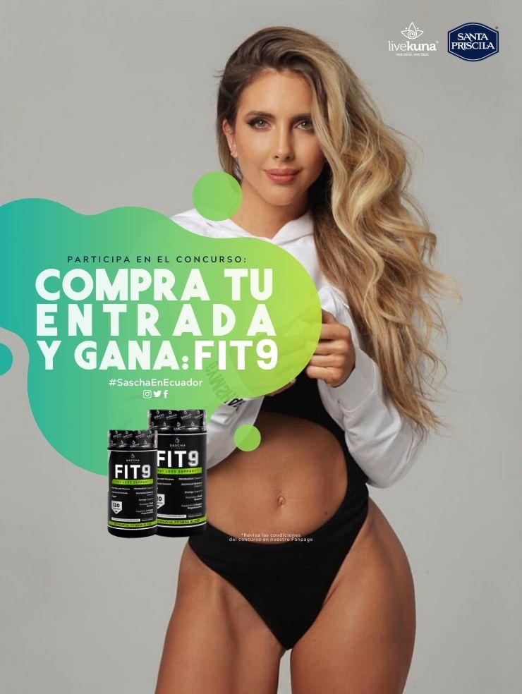 Sascha Fitness Ecuador - Feria Vive Sano Vive Bien - Engage Agencia de Comunicación y Relaciones Públicas