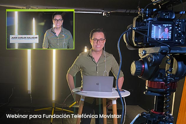 agencia-engaENGAGE | Agencia de Comunicación y Marketing Digital - Webinar para Fundación Telefónica Movistar